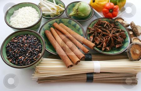 Asian food stock photo, Asian food by Yvonne Bogdanski