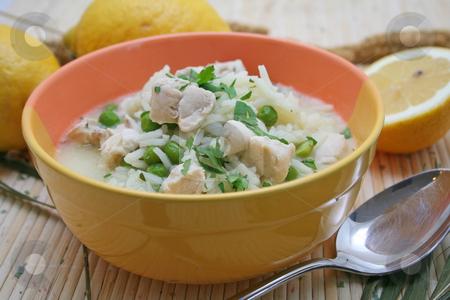 Lemon soup stock photo, Lemon soup by Yvonne Bogdanski