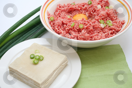 Preparing asian food stock photo, Preparing asian food by Yvonne Bogdanski