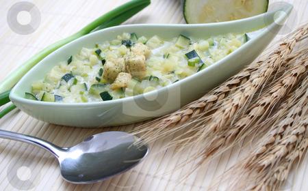 Fresh stew stock photo, A fresh stew of zucchini by Yvonne Bogdanski