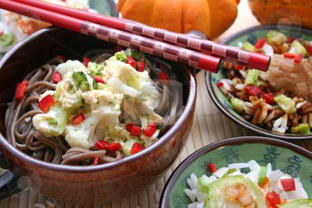 Dim sum stock photo, Asian food by Yvonne Bogdanski