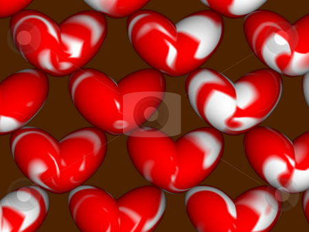 Hearts stock photo, Graphic by Yvonne Bogdanski