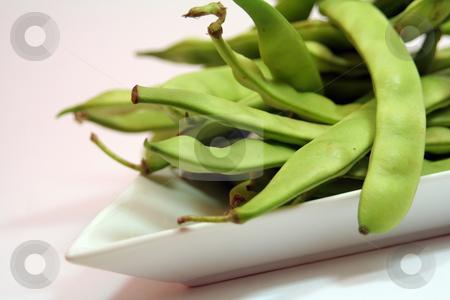 Green beans stock photo, Green beans by Yvonne Bogdanski