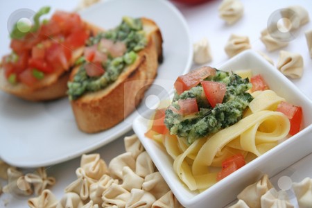 Italian food stock photo, Italian food by Yvonne Bogdanski