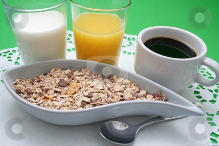 Breakfast stock photo, Breakfast by Yvonne Bogdanski