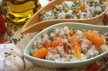 Ricesalad stock photo, Ricesalad by Yvonne Bogdanski