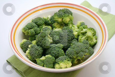 Broccoli stock photo, Fresh broccoli by Yvonne Bogdanski
