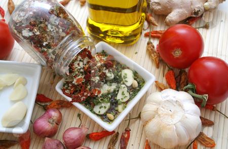 Fresh spices stock photo, Fresh spices by Yvonne Bogdanski