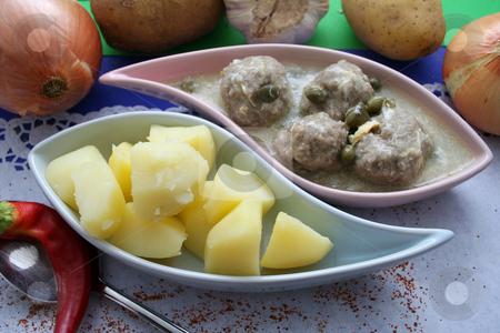 A meal stock photo, A meal by Yvonne Bogdanski