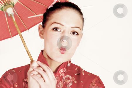The geisha stock photo, The geisha by Yvonne Bogdanski