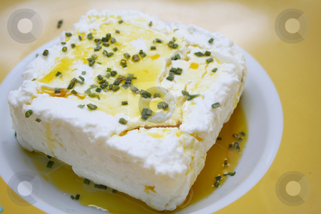 Fresh cheese stock photo, Fresh cheese by Yvonne Bogdanski