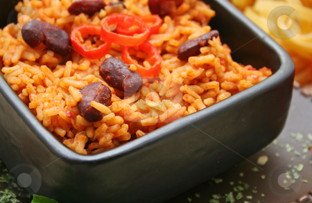 Mexican rice stock photo, Mexican rice by Yvonne Bogdanski