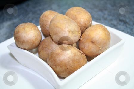 Potatoes stock photo, Potatoes by Yvonne Bogdanski