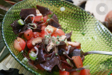 Fresh salad stock photo, Fresh salad by Yvonne Bogdanski