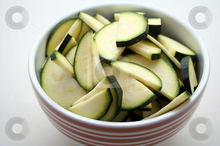 Zucchinis stock photo, Fresh zucchinis by Yvonne Bogdanski