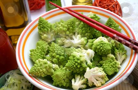 Romanesco stock photo, Fresh cabbage by Yvonne Bogdanski