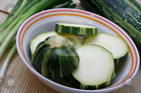 Fresh zucchinis stock photo,  by Yvonne Bogdanski