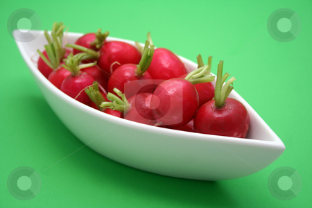 Red radish stock photo,  by Yvonne Bogdanski