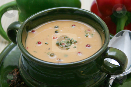 Pepper soup stock photo,  by Yvonne Bogdanski