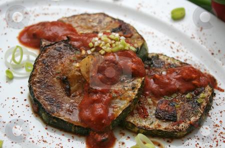 Zucchinis stock photo,  by Yvonne Bogdanski