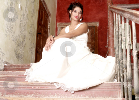 Young bride stock photo, Young bride by Yvonne Bogdanski