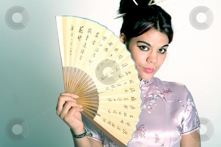 Asian girl stock photo, Frauenportrait by Yvonne Bogdanski