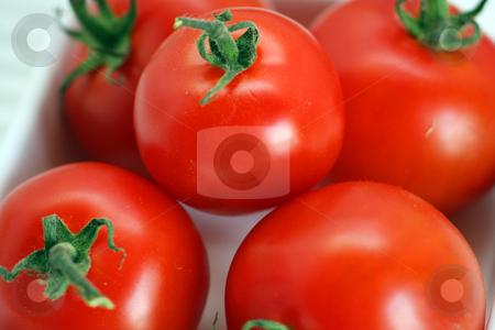 Fresh tomatoes stock photo,  by Yvonne Bogdanski