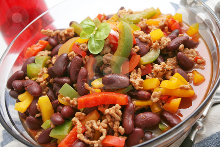 Chili con carne stock photo,  by Yvonne Bogdanski