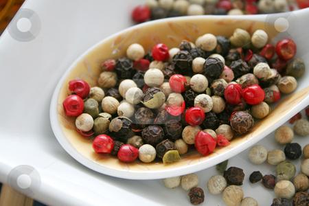 Pepper seeds stock photo,  by Yvonne Bogdanski
