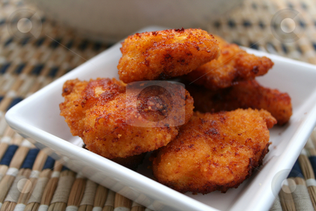 Chicken nuggets stock photo,  by Yvonne Bogdanski