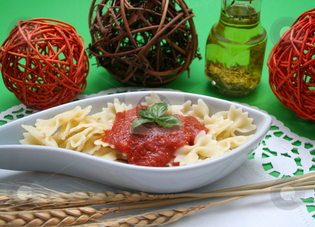 Pasta stock photo,  by Yvonne Bogdanski
