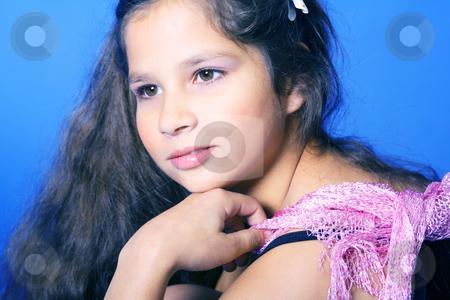 Young girl stock photo, Studio by Yvonne Bogdanski