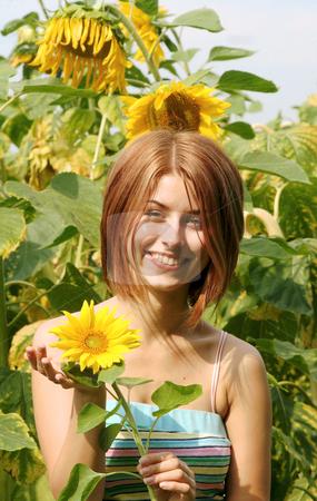 Summer stock photo, Frauenportrait by Yvonne Bogdanski