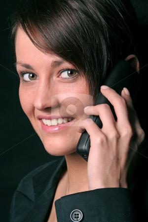 On the phone stock photo,  by Yvonne Bogdanski