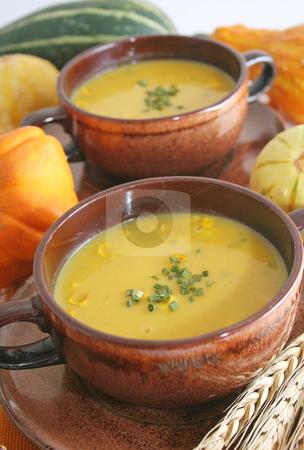 Pumpkin soup stock photo,  by Yvonne Bogdanski