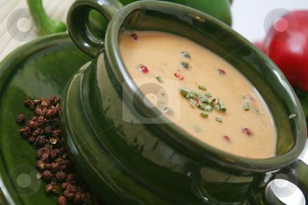 Pepper soup stock photo,  by Yvonne Bogdanski