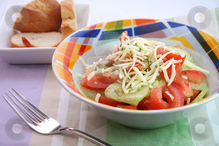 Fresh salad stock photo,  by Yvonne Bogdanski