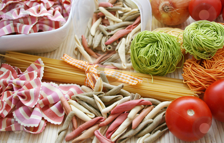 Italian pasta stock photo,  by Yvonne Bogdanski