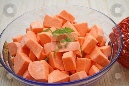 Sweet Potatoes stock photo,  by Yvonne Bogdanski