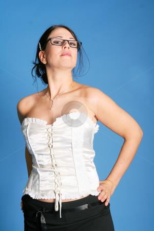 Young woman stock photo, Studio by Yvonne Bogdanski