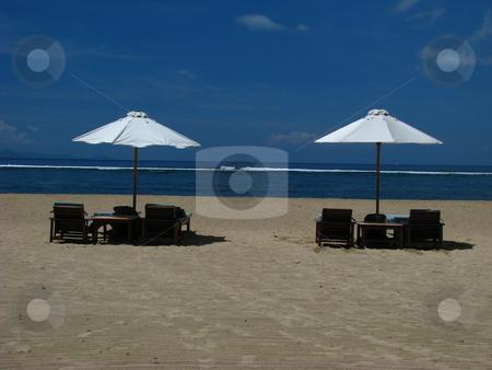 Relaxing stock photo, Relaxing in Sanur Bali by Juergen Heitmeier