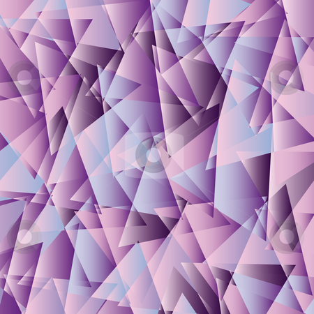 Pearly triangle fantasy stock vector clipart, Pearly colored triangle background fantasy by Karin Claus