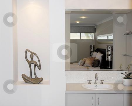 Bathroom  stock photo, Bathroom - En Suit Interior by Laura Smith