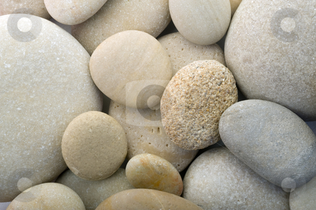 pebbles background stock photo, Closeup of 