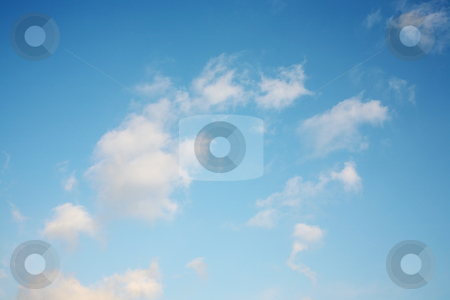 Beautiful cloudy sky stock photo, Sky with beautiful clouds by Stacy Barnett