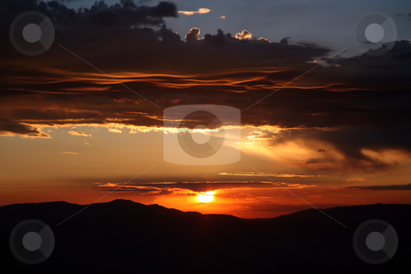 Beautiful sky stock photo, Beautiful and colorful sky by Stacy Barnett