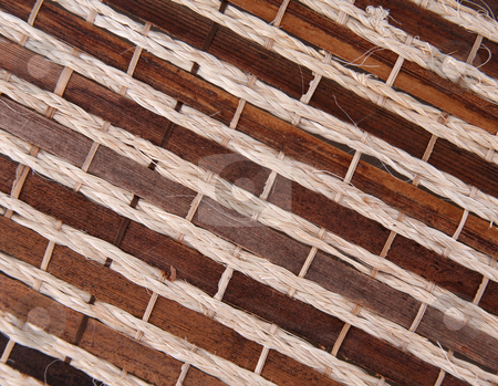 Bamboo  12 stock photo, Bamboo texture background bound together in a pattern by Stacy Barnett