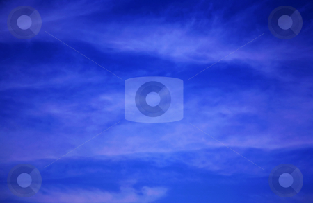 Blue sky stock photo, Beautiful blue sky that is gorgeous and heavenly by Stacy Barnett