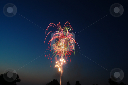 Fireworks stock photo,  by Heather Shelley