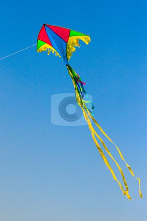 Kite flying stock photo, Kite flying by Andrey Butenko